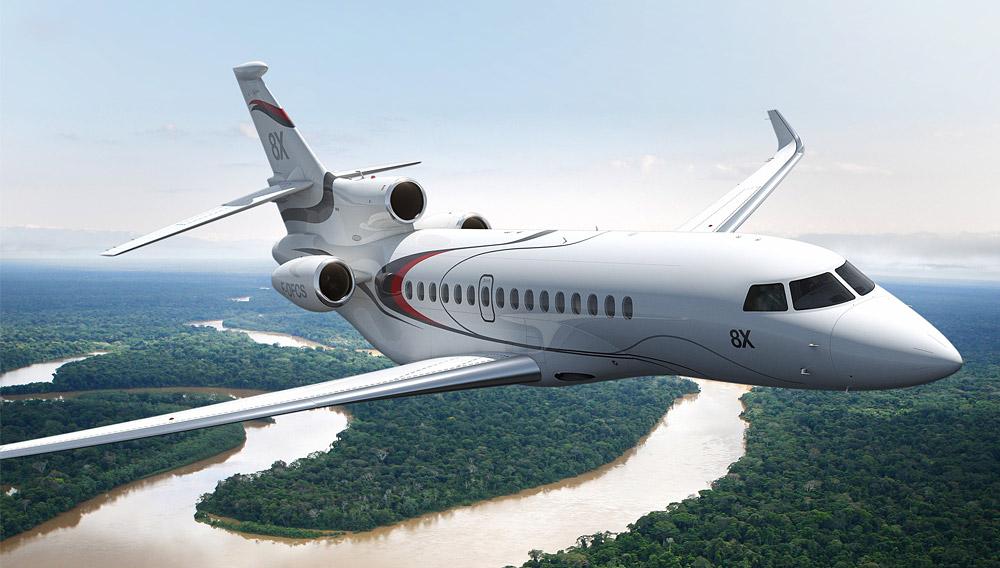 Самолёты Dassault Falcon по-прежнему не находят спроса
