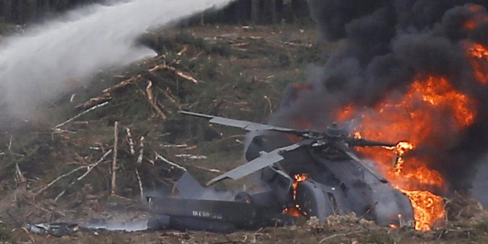В Мумбаи разбился частный туристический вертолет