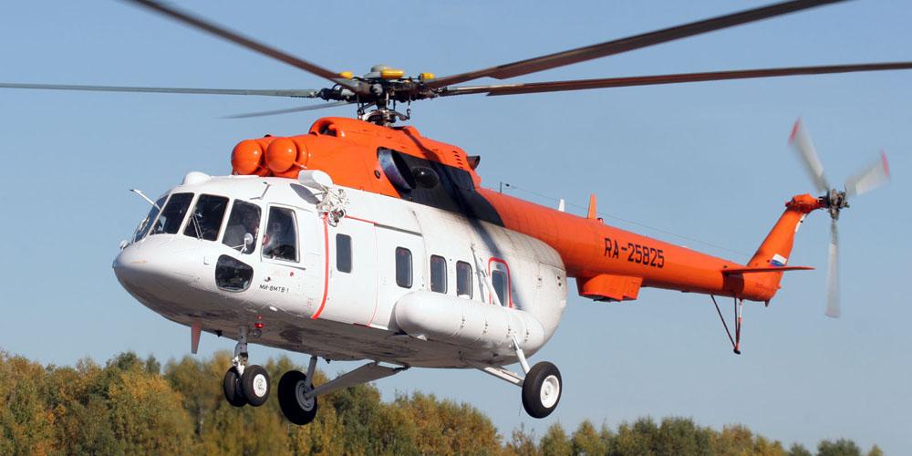 В Чукотском округе аварийный вертолет совершил вынужденную посадку