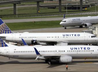 United Airlines остановила полеты вследствие компьютерного сбоя