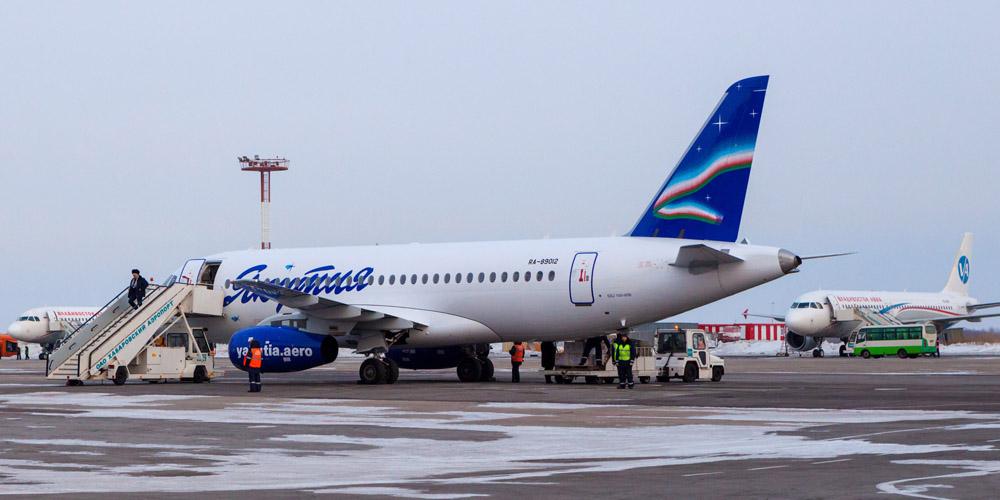 Авиакомпания «Якутия» получила пятый лайнер Sukhoi Superjet 100