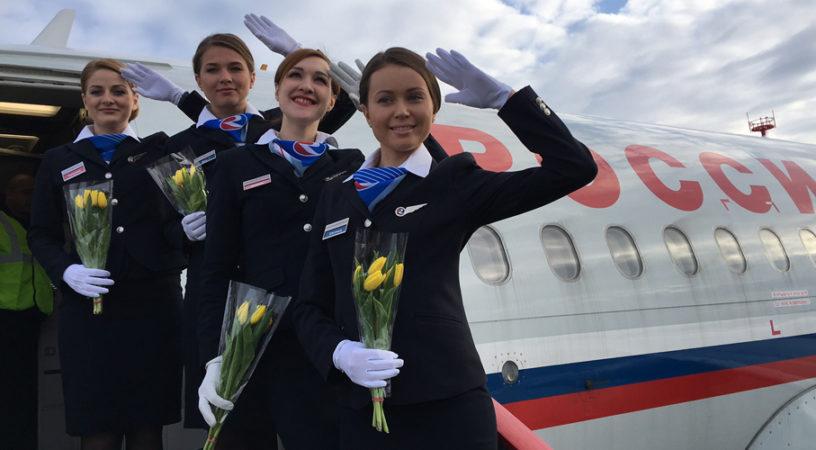 Авиакомпания «Россия» открывает сообщение с Антальей и Стамбулом