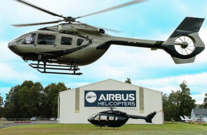 Поставки вертолетов Airbus возросли на 39.3%