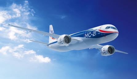 В России собрали новейший лайнер МС-21