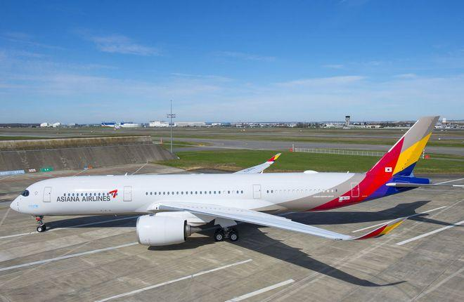 Авиаперевозчик «Asiana Airlines» получил первый «Airbus A-350/900»
