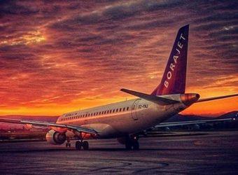 Авиаперевозчик «Borajet Airlines» временно приостановил полеты